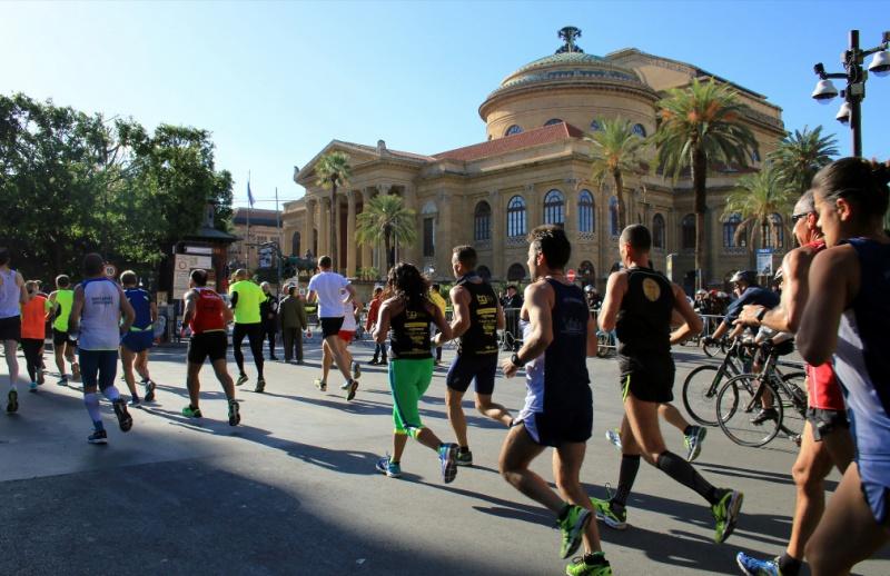 Sipario alzato sulla Maratona di Palermo